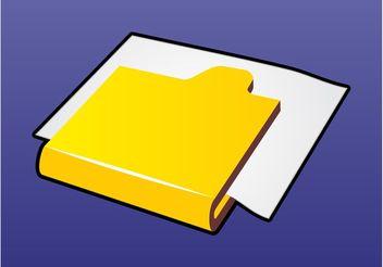 Computer Folder - Kostenloses vector #151953