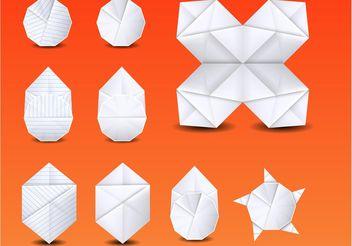 Origami Vector - vector #152013 gratis