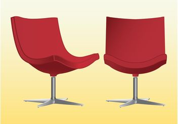 Fancy Chairs - vector gratuit #152043