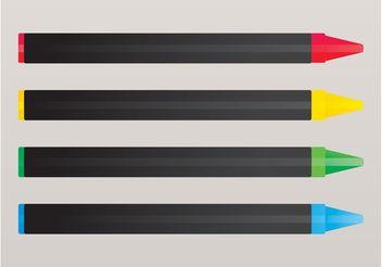 Crayons - vector gratuit #152153