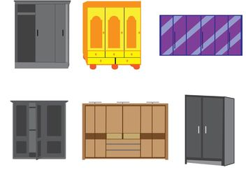Vector Furniture - vector #152303 gratis