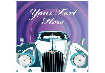 Luxury Limousine Invitation - Free vector #152393