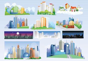 Free City Vectors - Kostenloses vector #152403