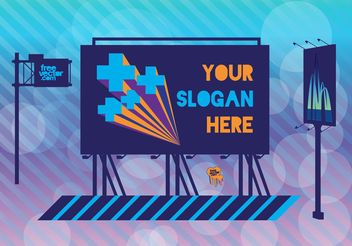Billboards - Free vector #152493