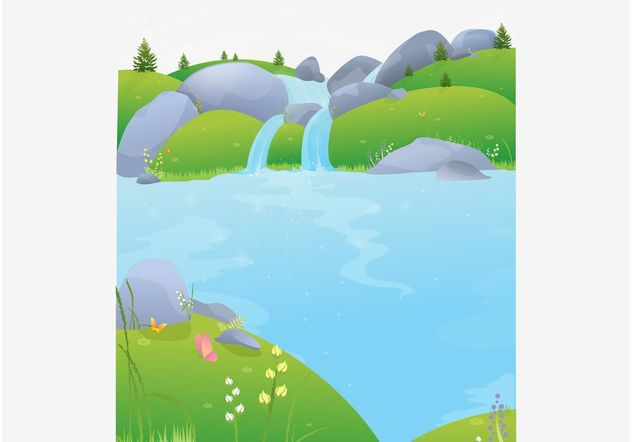 Nature Postcard - Free vector #152593