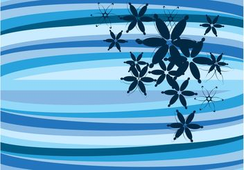 Vector Flowers Background - Free vector #152723
