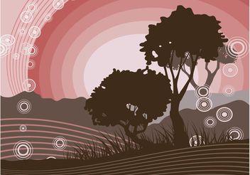 Vector Nature Scene - Free vector #152913
