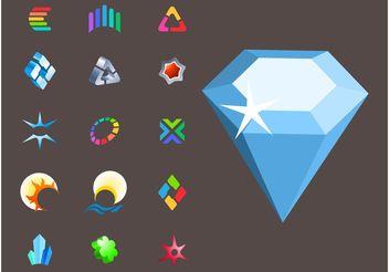 Icons Vectors - Kostenloses vector #153013