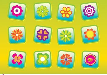 Free Flowers Vectors - Free vector #153273