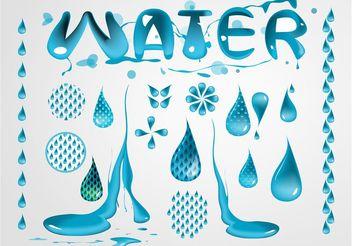 Water Vectors - vector #153423 gratis