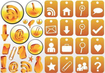 Social Network Computer Vectors - Free vector #153513