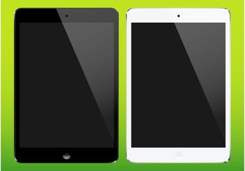 iPad Mini Vectors - vector #153793 gratis