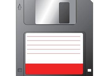 Vector Diskette - vector #153873 gratis