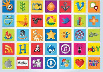 Social Networking Graphics - vector gratuit(e) #153923