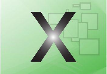 X Vector - vector #153953 gratis