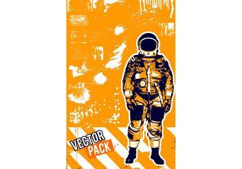 Astronaut Vector - Free vector #154213