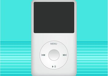 Apple iPod Design - Kostenloses vector #154223