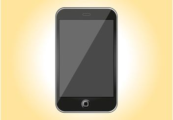 Apple iPhone 3G - vector #154263 gratis