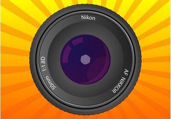 Nikkor Lens - vector gratuit #154273