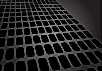Receding Grid - vector #154293 gratis