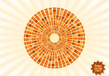 Abstract Vector Circle - Free vector #154413