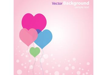 Abstract Love Background - vector #154433 gratis