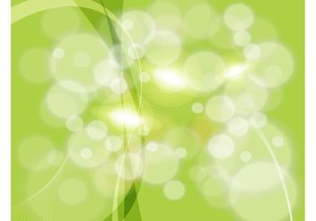 Abstract Green Vector - Free vector #154523