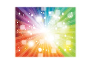 Rainbow Vector Background Colors - vector gratuit #154683
