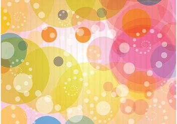 Vector Wallpaper Colorful Background - Free vector #154713