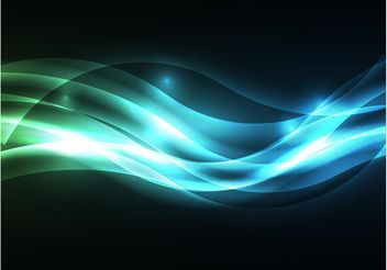 Glowing Vector Background - Kostenloses vector #154933
