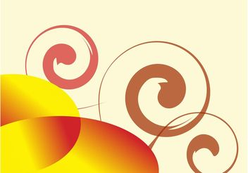 Background Swirls - vector gratuit #154963