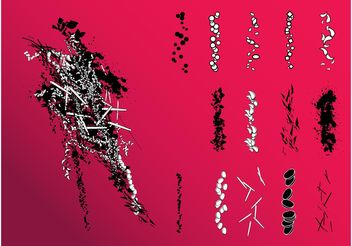 Brush Set - vector #155033 gratis