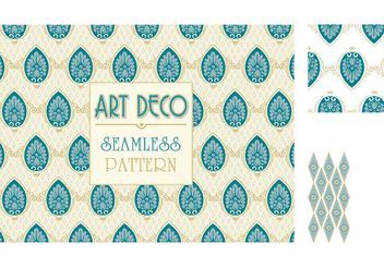 Free Ornate Floral Seamless Pattern Vector - Free vector #155043