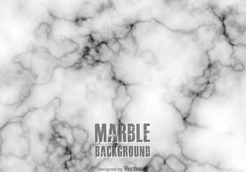 Free White Marble Vector Background - Free vector #155133