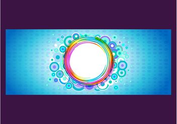 Rainbow Banner - vector gratuit #155253