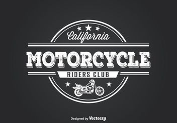 Motorcycle Club T Shirt Design - Free vector #155393