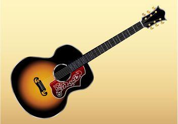 Gibson Guitar - Free vector #155543