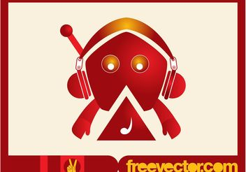Music Character Vector - бесплатный vector #155633