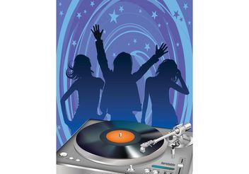 Party People - vector gratuit #155813