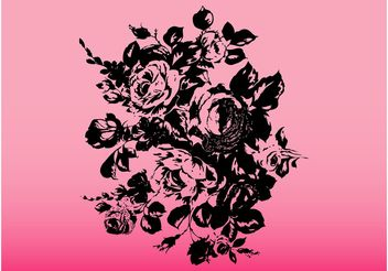 Bouquet Of Roses - Free vector #157053