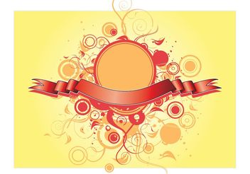 Banner Decoration Vector - vector gratuit #157413