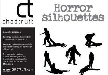 Horror Silhouette -1 - Free vector #158513