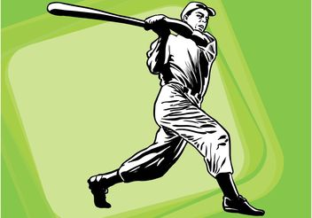 Baseball Layout - Free vector #158863