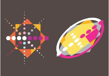 Colorful Abstract Designs - vector gratuit #159013