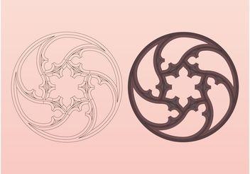 Antique Decorations Designs - Free vector #159043