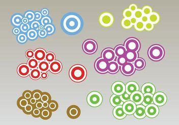 Circles Bubbles Vectors - бесплатный vector #159213