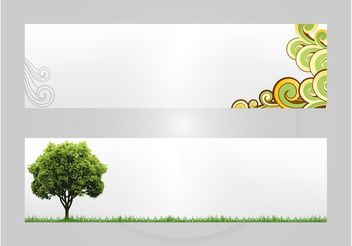 Elegant Banners - Free vector #159303