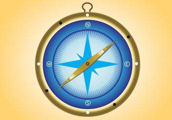 Compass Vector - vector #159603 gratis