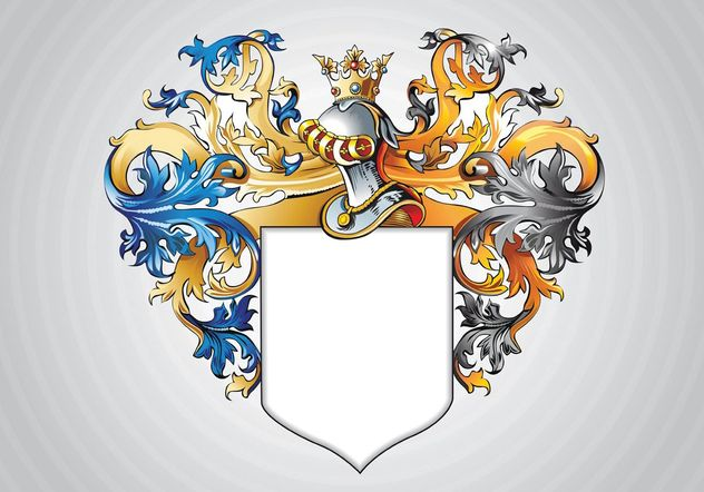 Medieval Shield - Free vector #159993
