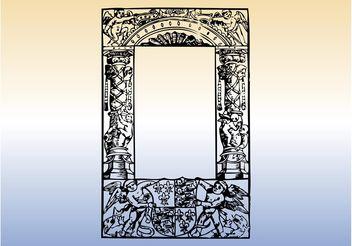 Antique Frame Vector - Kostenloses vector #160503